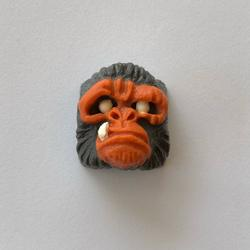 Alpha Keycaps - alpha ape - Carbon