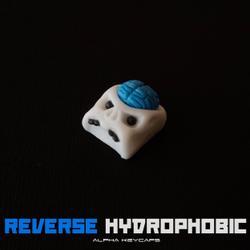 Alpha Keycaps - cherep - Reverse Hydrophobic