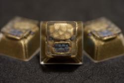 Alpha Keycaps - MF Belooga - Golden Face