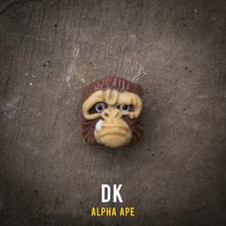 Alpha Keycaps - alpha ape - DK