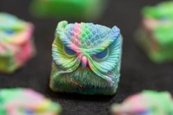 Alpha Keycaps - Keypora - Psychedelic