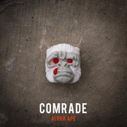 Alpha Keycaps - alpha ape - Comrade
