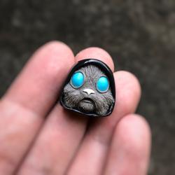 Alpha Keycaps - jedi blinker - Bleu Dolchy
