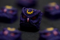 Alpha Keycaps - Keypora - Crescent Puss
