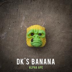Alpha Keycaps - alpha ape - DK's Banana