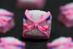 Alpha Keycaps - Keypora - Pink Merc