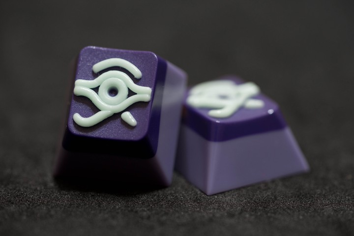 Alpha Keycaps - Mounting Dread matapora