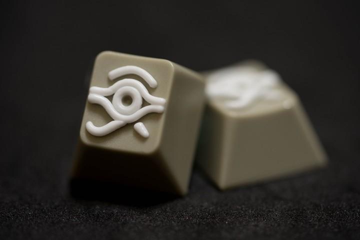 Alpha Keycaps - Beige Milk matapora