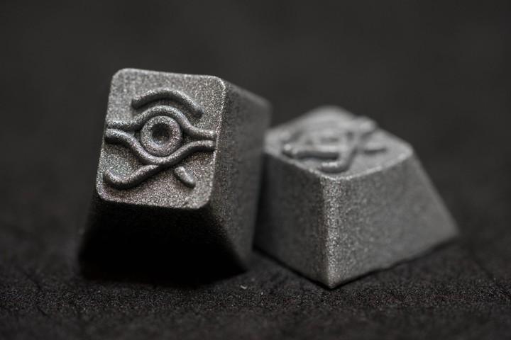 Alpha Keycaps - Silver Bullet Matapora