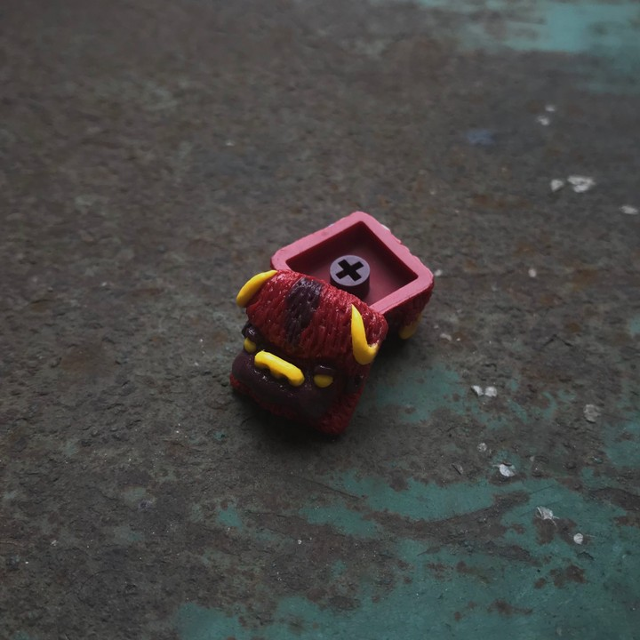 Alpha Keycaps - Fire Nation Albison