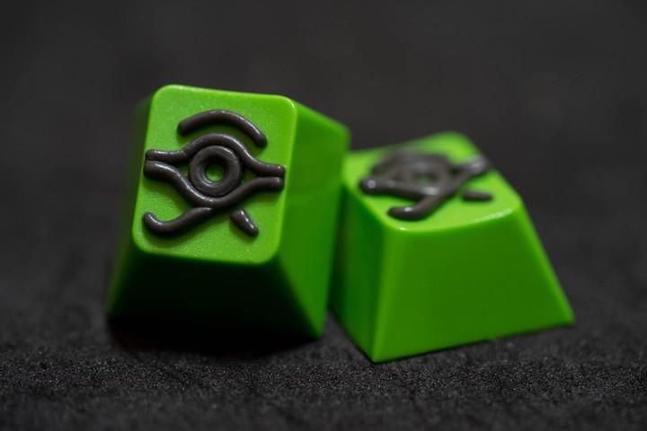 Alpha Keycaps - Hacker Lite matapora