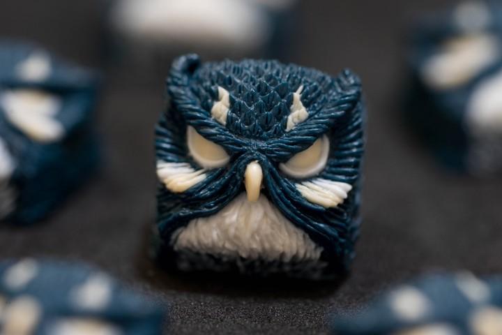 Alpha Keycaps - Kursi keypora