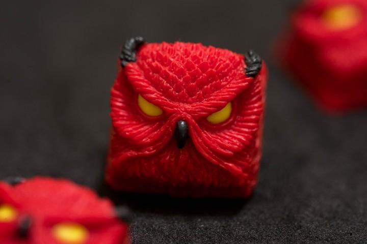 Alpha Keycaps - Crimson Devil Keypora