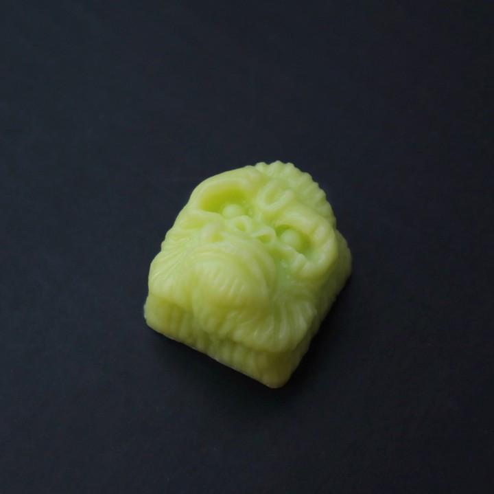Alpha Keycaps - Lime Green alpha ape
