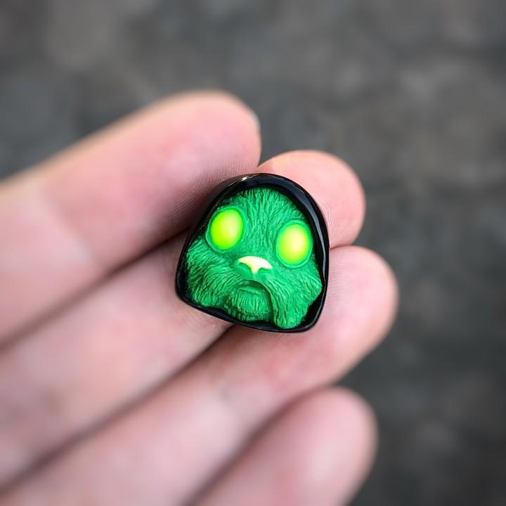 Alpha Keycaps - Gamma Radiation jedi blinker