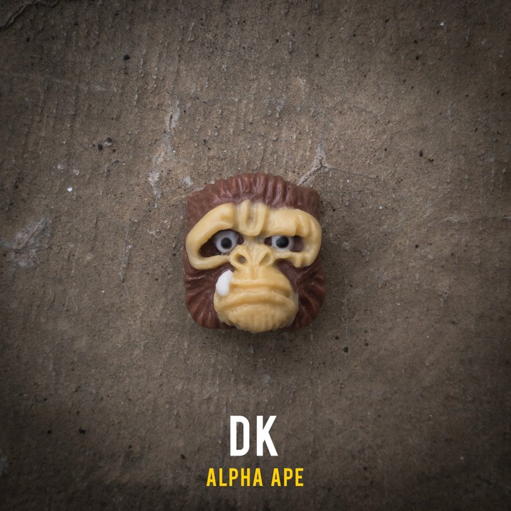 Alpha Keycaps - DK alpha ape
