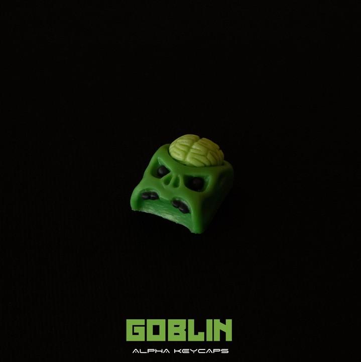 Alpha Keycaps - Goblin cherep
