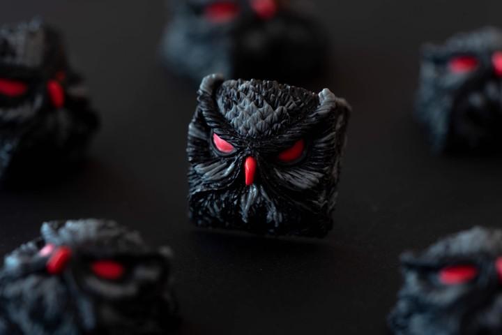 Alpha Keycaps - Pirate Black keypora