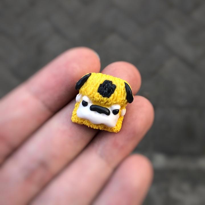 Alpha Keycaps - Bumblebee albison