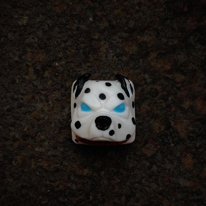 Alpha Keycaps - Dalmatian mr worldwide