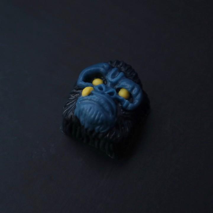 Alpha Keycaps - Aquanaut Alpha Ape