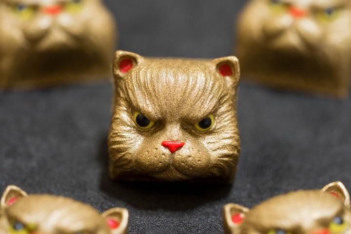 Alpha Keycaps - RNG Cat salvador