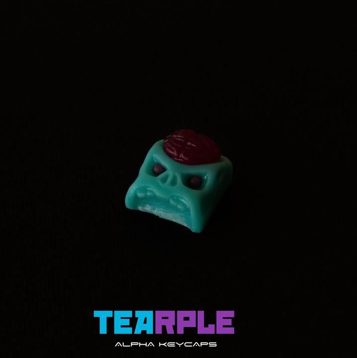 Alpha Keycaps - Tearple cherep