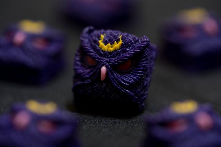 Alpha Keycaps - Crescent Puss Keypora