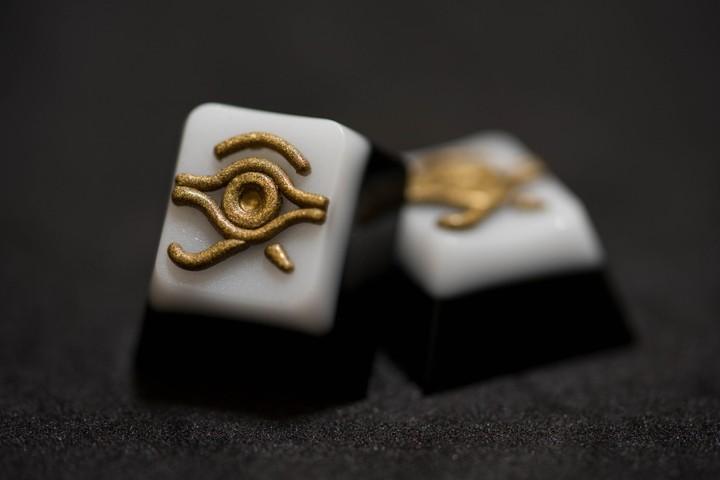 Alpha Keycaps - Golden Eye Matapora
