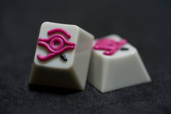 Alpha Keycaps - Dot Matrix matapora