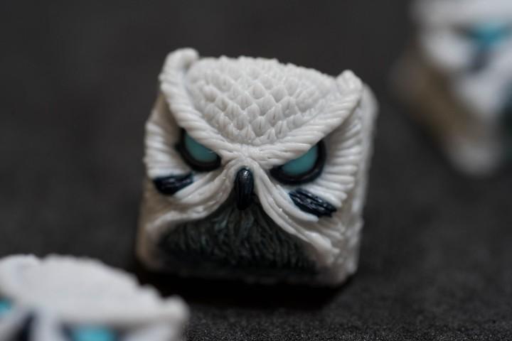 Alpha Keycaps - White Fang Keypora