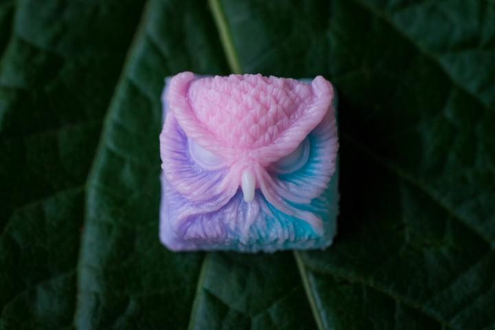 Alpha Keycaps - Cotton Candy Keypora