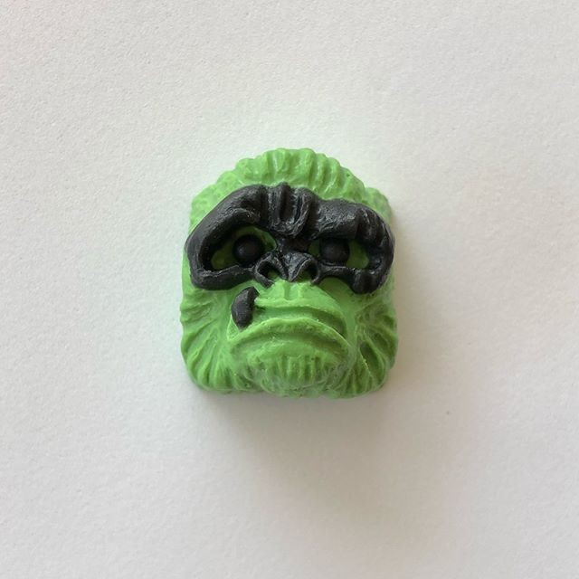 Alpha Keycaps - Hacker Alpha Ape