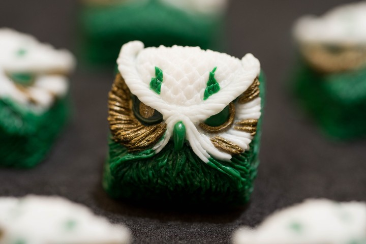 Alpha Keycaps - Celtics Keypora