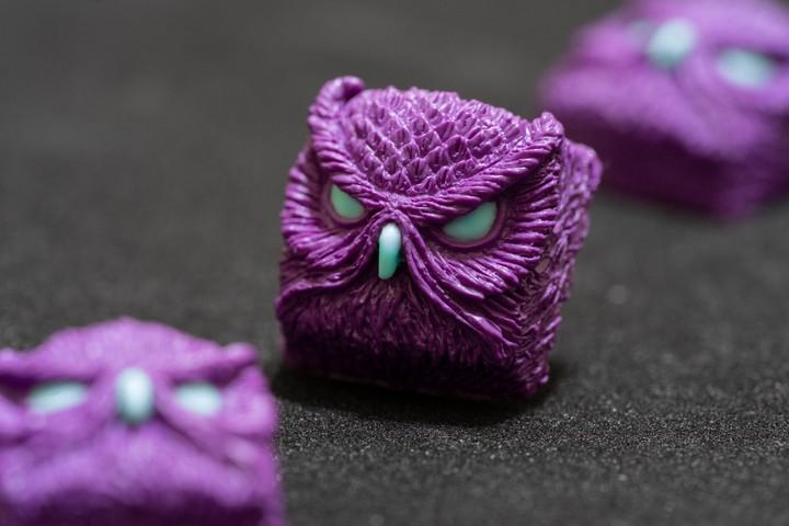 Alpha Keycaps - HFO Purple Keypora