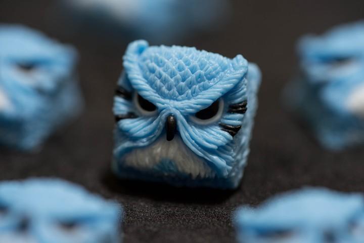 Alpha Keycaps - Chuu Totoro keypora
