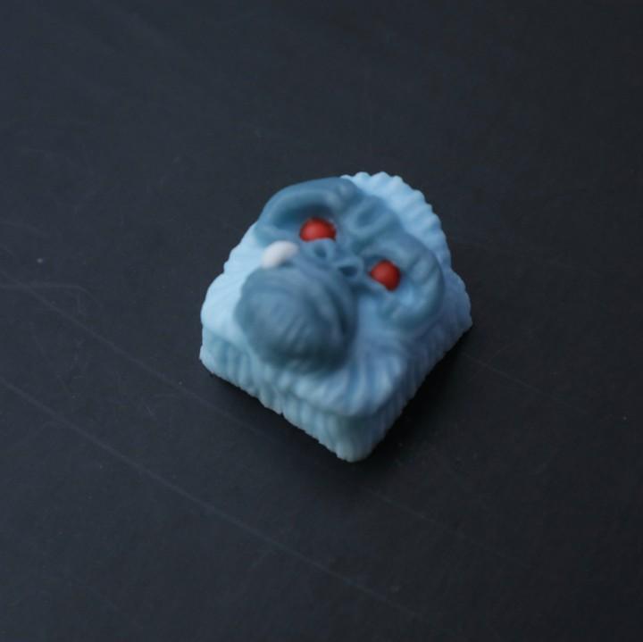 Alpha Keycaps - Yeti alpha ape