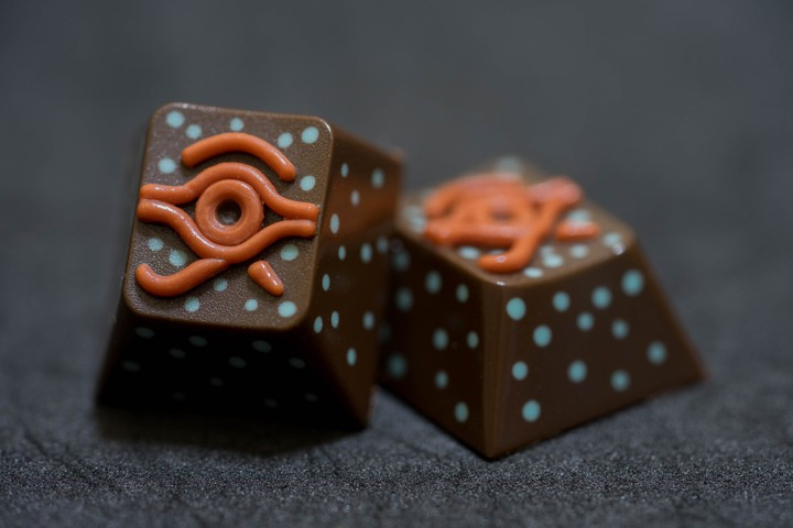 Alpha Keycaps - Cuprum Matapora