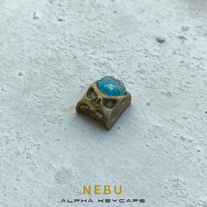 Alpha Keycaps - Nebu cherep