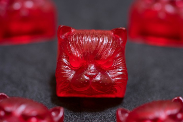 Alpha Keycaps - Cherry Gummy salvador