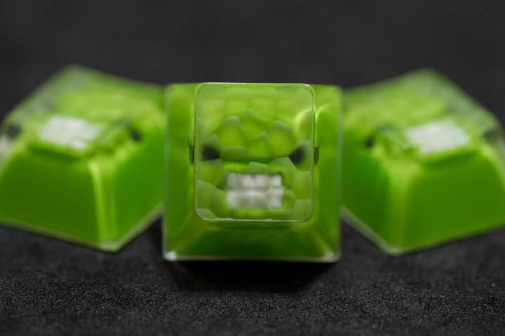 Alpha Keycaps - Hulk MF Belooga