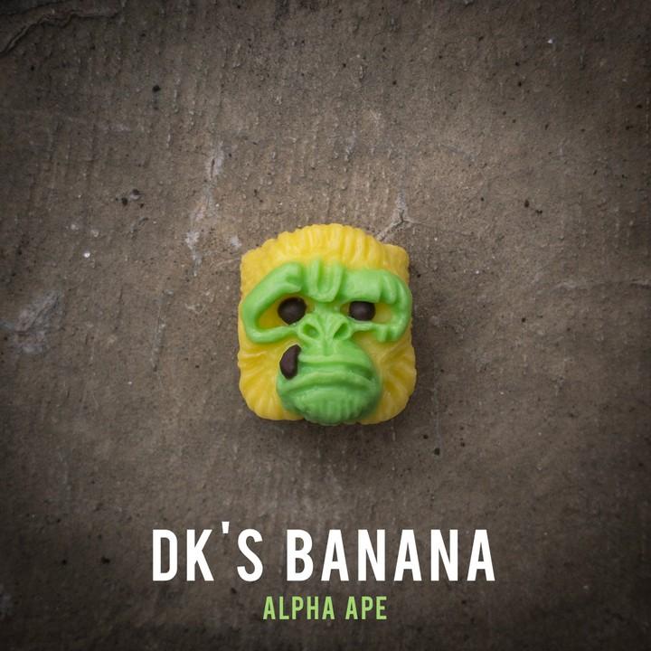 Alpha Keycaps - DK's Banana Alpha Ape