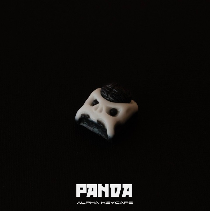 Alpha Keycaps - Panda Cherep