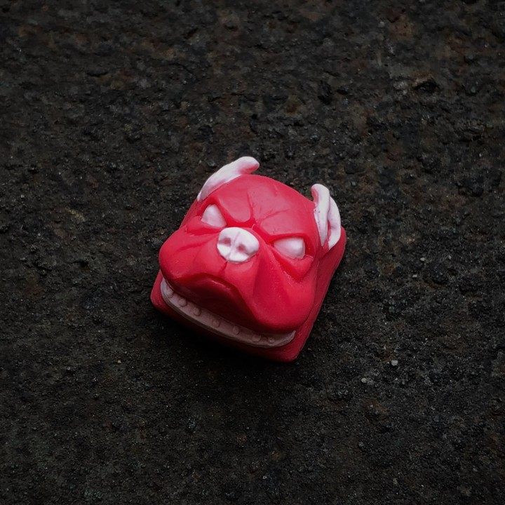 Alpha Keycaps - Really Pink Mr Worldwide