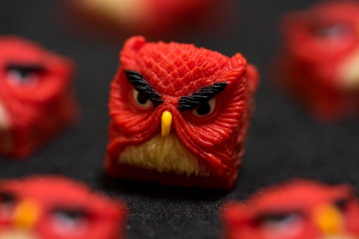 Alpha Keycaps - Angriest Bird Keypora